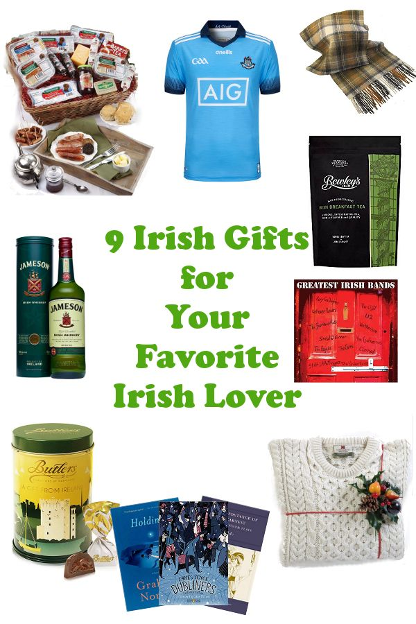 Searching for a gift for a discerning lover of Ireland? I have just the gift guide for you! Here's 9 Irish gift ideas for your favorite Irish lover! #giftguide #ireland