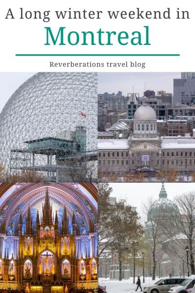 Here's your guide for what to do and what to see in Montreal, Canada for a long winter weekend from important museums to historic neighborhoods. #montreal #quebec #canada #travel