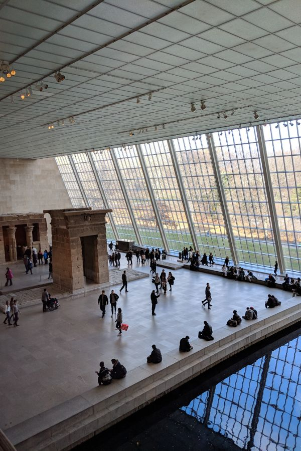 Metropolitan Museum of Art, one of many Upper East Side museums.