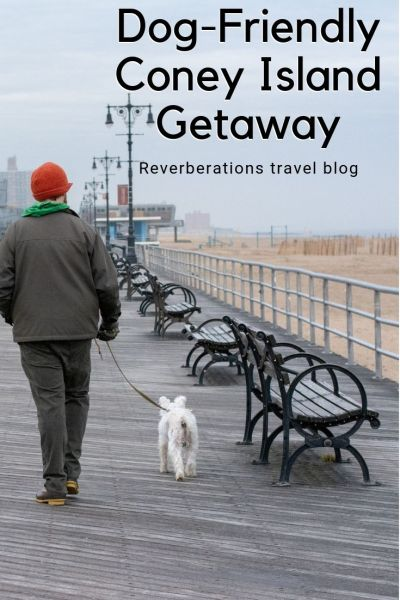 From the boardwalk to the beach, there are so many fun things to do for a Coney Island dog-friendly getaway in Brooklyn, New York. #coneyisland #nyc #brooklyn #dogfriendly