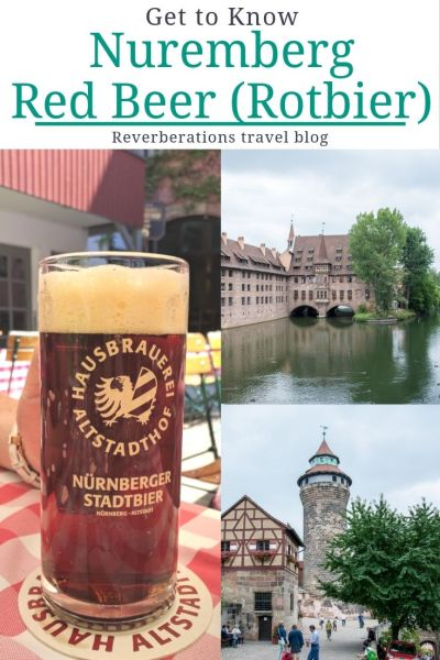 Germany is known for beer and Nuremberg Red Beer (or Rotbier) is especially unique! Learn the history of this unusual brew and where you can taste it! #nuremberg #bavaria #germany #beer