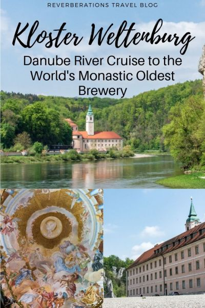 A fun day trip to Bavaria's Kloster Weltenburg, the world's oldest monastic brewery, includes a Danube river cruise to enjoy nature and award-winning beer. #bavaria #germany