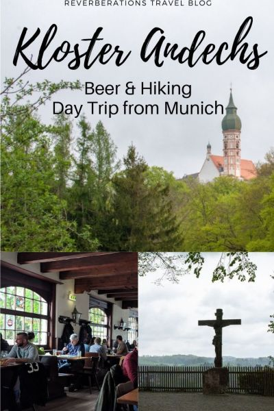 Hiking to the pilgrimage church of Kloster Andechs to sample the monastery's famous beer makes for a rewarding day trip from Munich, Germany. #andechs #bavaria #munich #germany #beer
