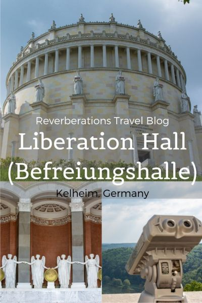 Befreiungshalle Kelheim, or Liberation Hall Kelheim, is a massive memorial that offers stunning views over the Bavarian countryside and isn't worth missing! #regensburg #kelheim #bavaria #germany #travel