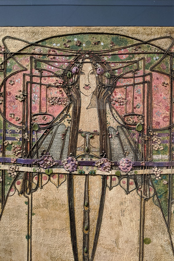 The May Queen by Margaret Macdonald Mackintosh.