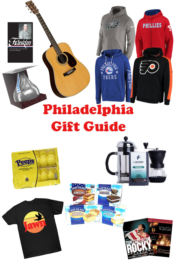 Looking for a gift for a special someone? Spoil someone dear to you with one of these unique Philadelphia gifts from tasty treats to wearable items! #philadelphia #philly #visitphilly #gifts #giftguide