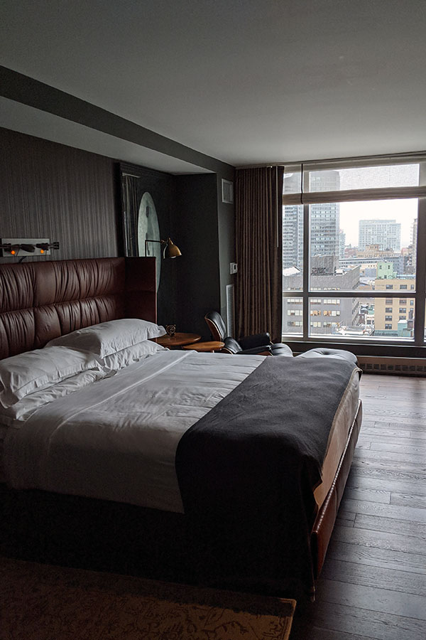 The Kimpton Nine Zero is a central hotel for exploring Boston in a bit of luxury.