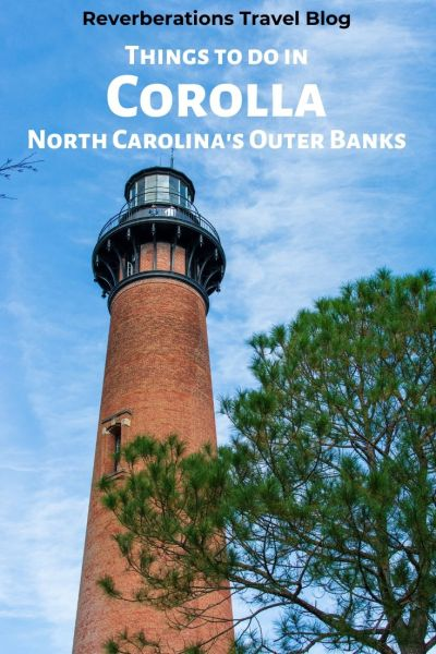 Explore the Outer Banks' northern end. Here are the best things to do in Corolla, North Carolina! Travel guide for what to see and restaurants in Corolla, NC. #corolla #northcarolina #visitnc #obx #outerbanks #usa