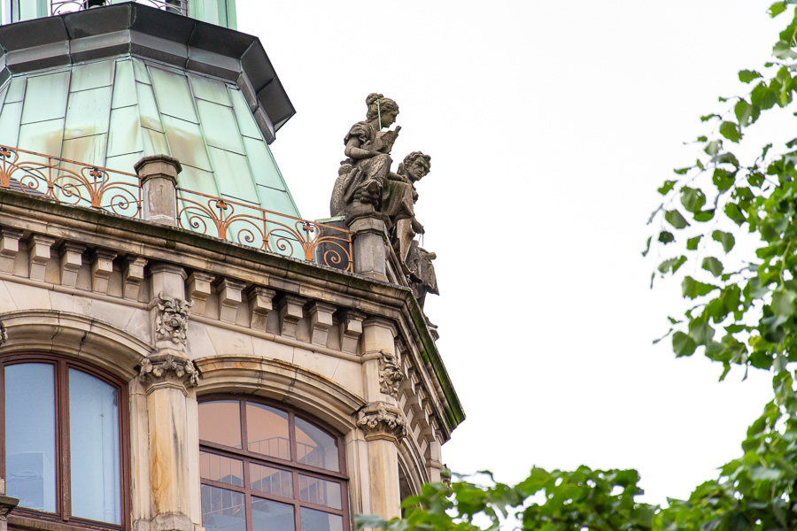 Hamburg is rich in architectural details.