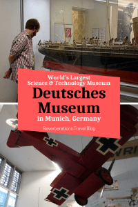 Deutsches Museum is the largest science and technology museum in the world and one of the oldest! Find out why this Munich museum is a must-see for visitors. #munich #bavaria #germany #museum
