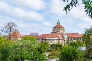 The Munich Botanical Garden sits in western Munich.