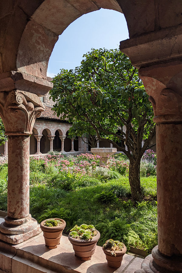 The Cuxa Cloister at the Met Cloisters.