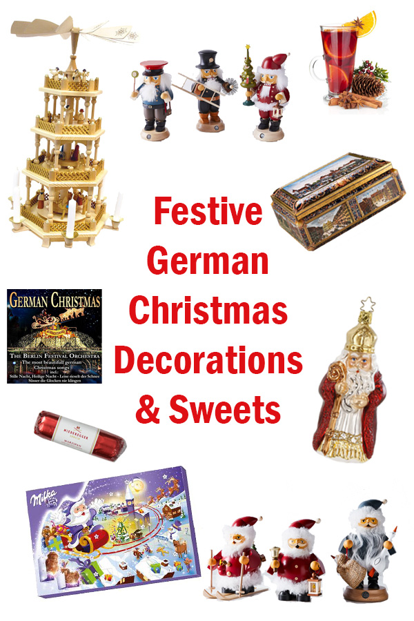 Germany's full of many holiday traditions. From handmade German Christmas decorations to delectable sweets, here are ideas for celebrating the season.
