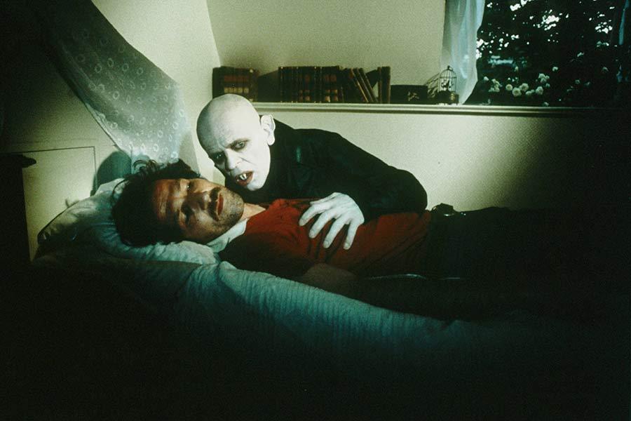 Learn German with director Werner Herzog's Nosferatu.
