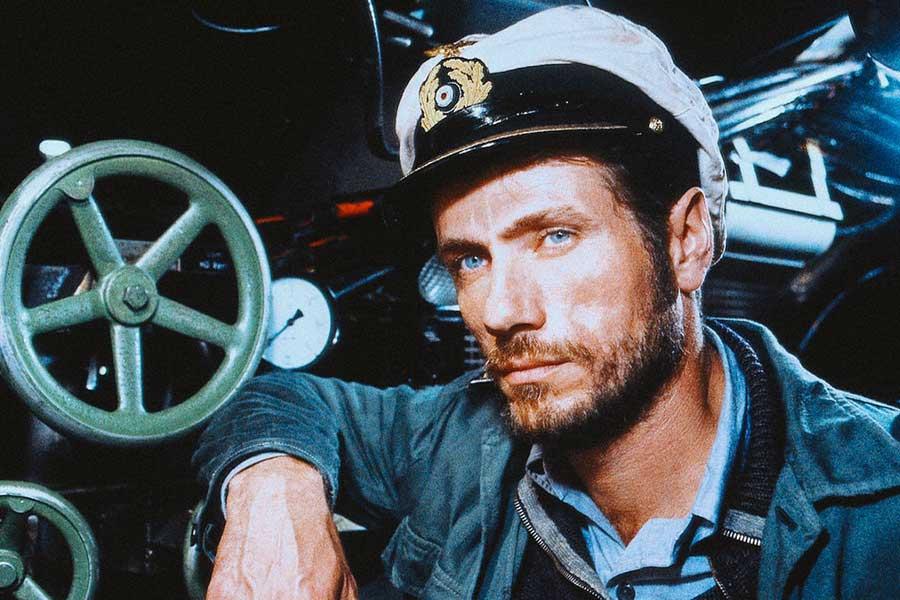 Climb aboard a WWII U-Boot in the film Das Boot.