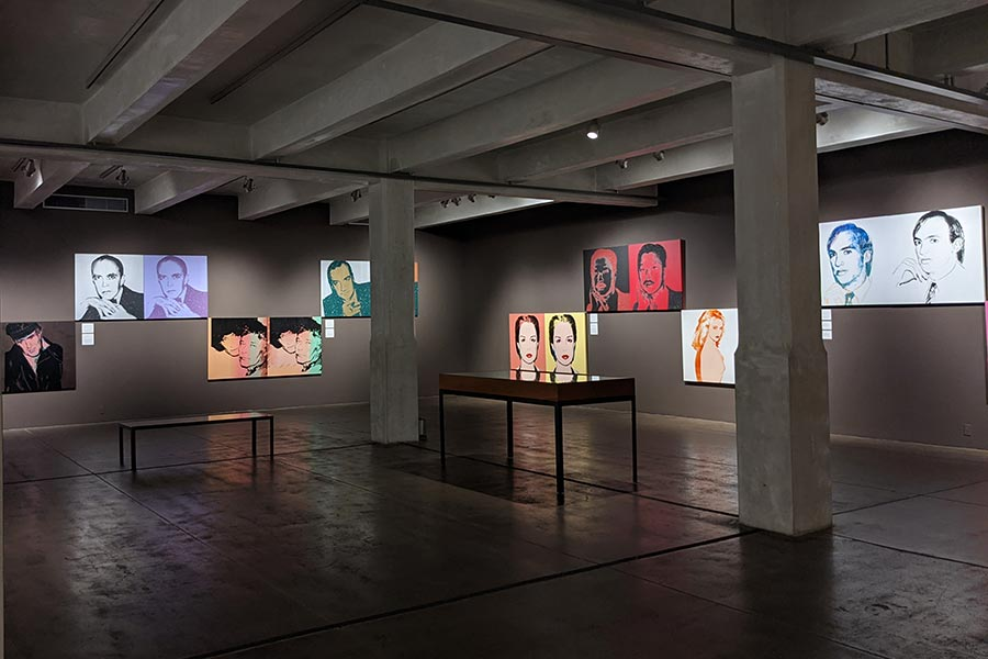 The Warhol Museum's collection includes notable works by the famous artist.