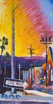 """Oneway Sunset"" by James P. Scott"