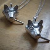 Tara Magboo's Smokin' Fox Silver Necklace