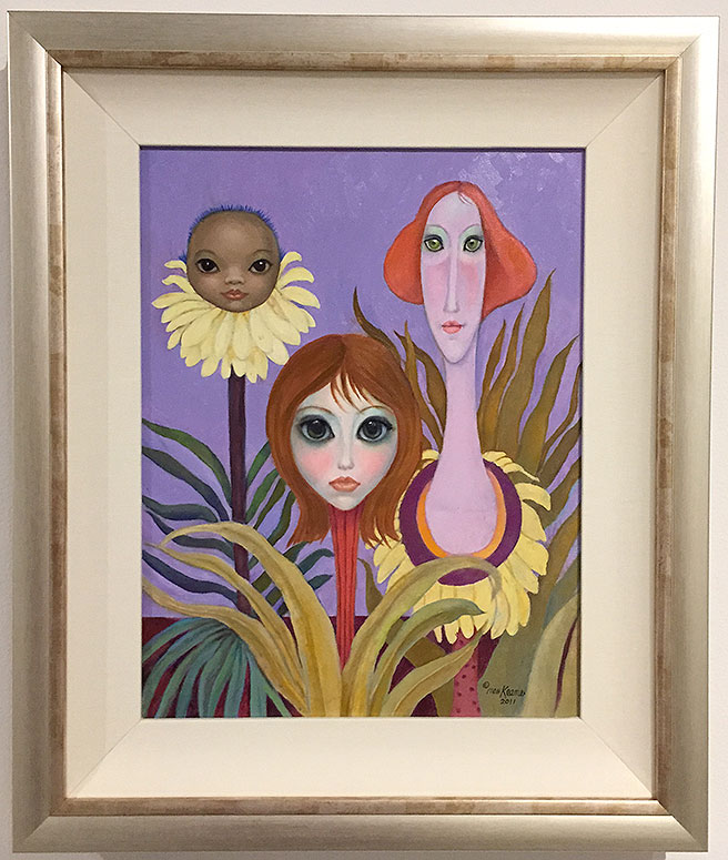 Margaret Keane - Flower Heads