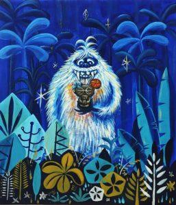 Tiki Oasis 16: Party on Monster Island Art Show