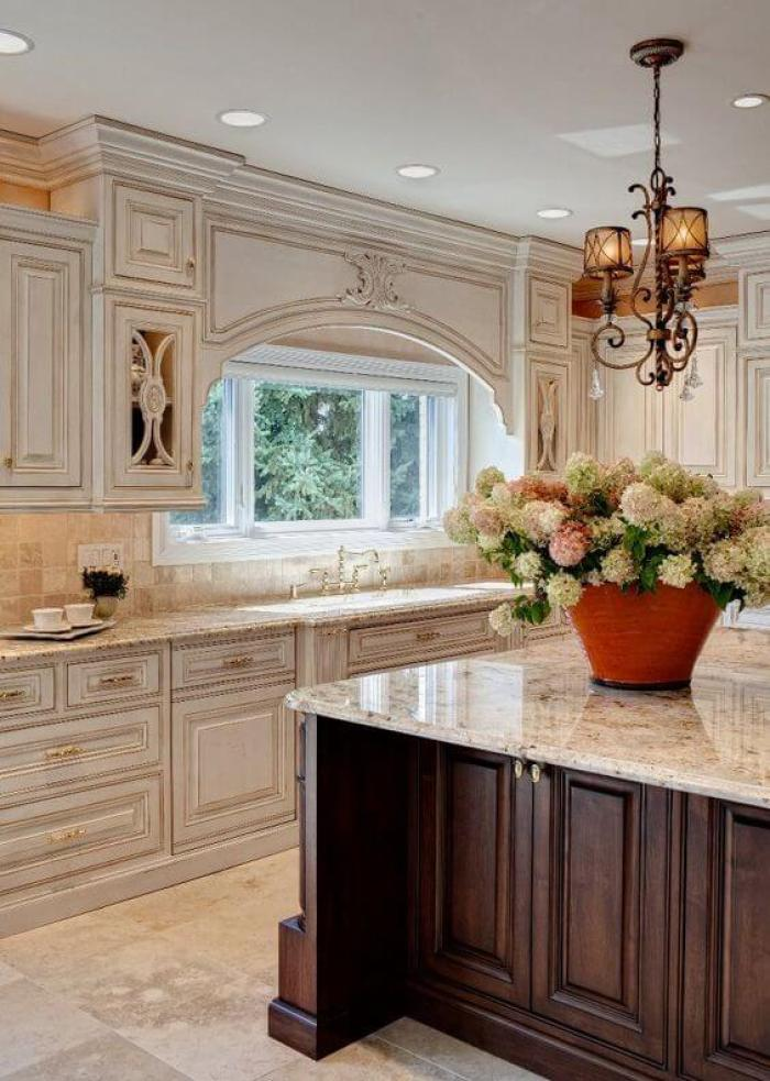 antique white kitchen cabinets - 25 Antique White Kitchen Cabinets Ideas That Blow Your Mind - Reverb