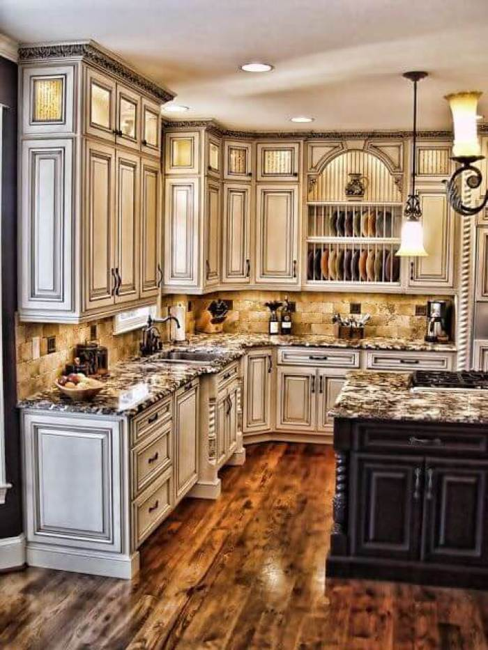 Antique White Kitchens - 25 Antique White Kitchen Cabinets Ideas That Blow Your Mind - Reverb