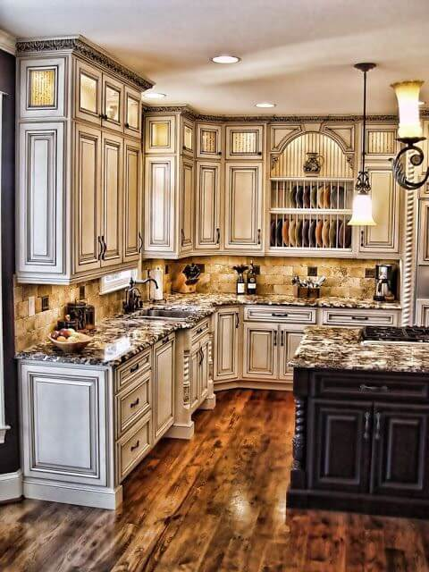 Perfect Antique White Kitchens