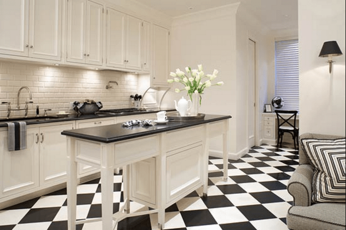 19 Inspiration Black And White Kitchen Design & Decor Ideas