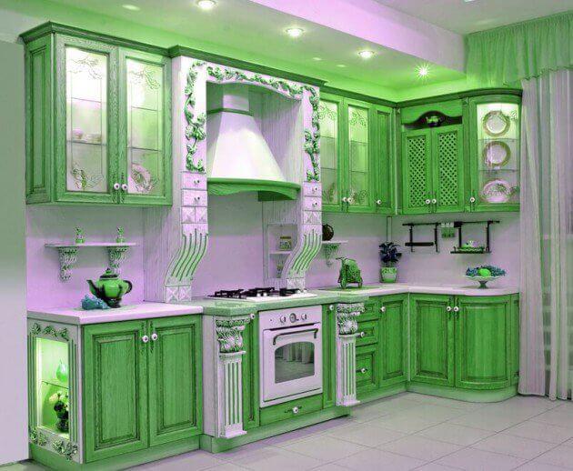 15 green kitchen cabinets design photos ideas inspiration rh reverbsf com