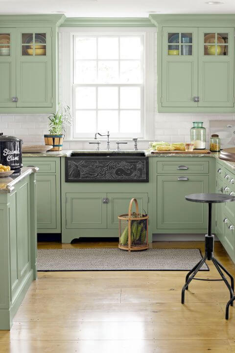 Green Kitchen Ideas Part - 28: Green Kitchen Ideas