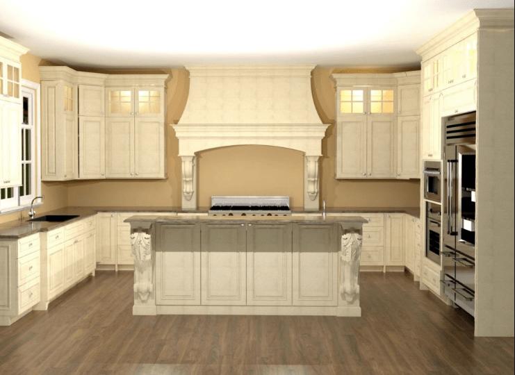 Large U Shaped Kitchen Designs. U Shaped Kitchen Layout