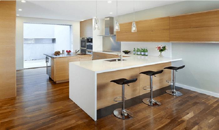 l shaped kitchen diner