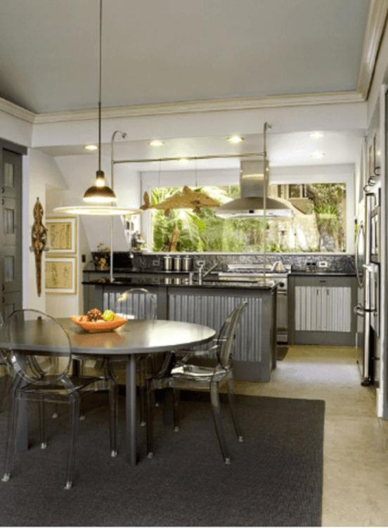 metal kitchen