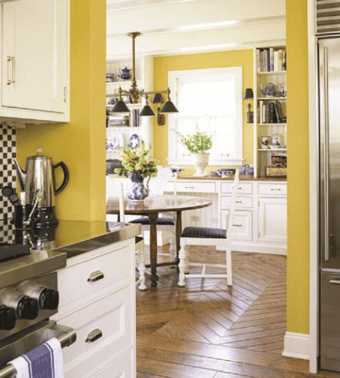 Yellow Kitchen Design