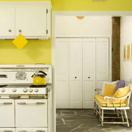 Traditional Yellow Kitchen Ideas