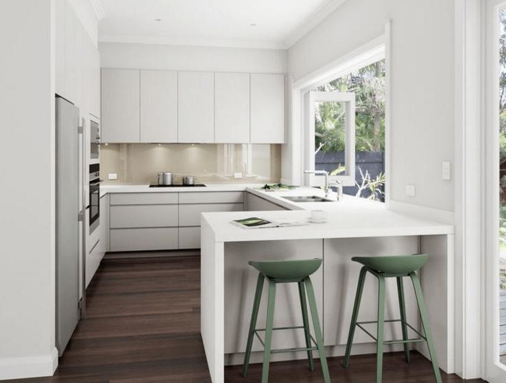 u shaped kitchen with peninsula & 13 Best Ideas U Shape Kitchen Designs \u0026 Decor Inspirations