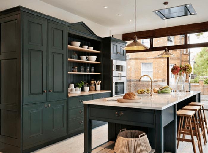 15+ Green Kitchen Cabinets Design, Photos, Ideas & Inspiration