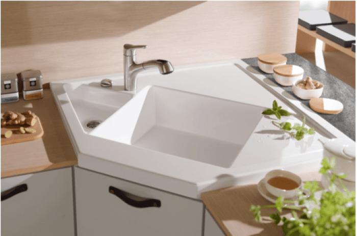 Mesmerizing Kitchen Decoration With Undermount Kitchen Sink : Modern Kitchen  Decoration Ideas With Black Granite Counter
