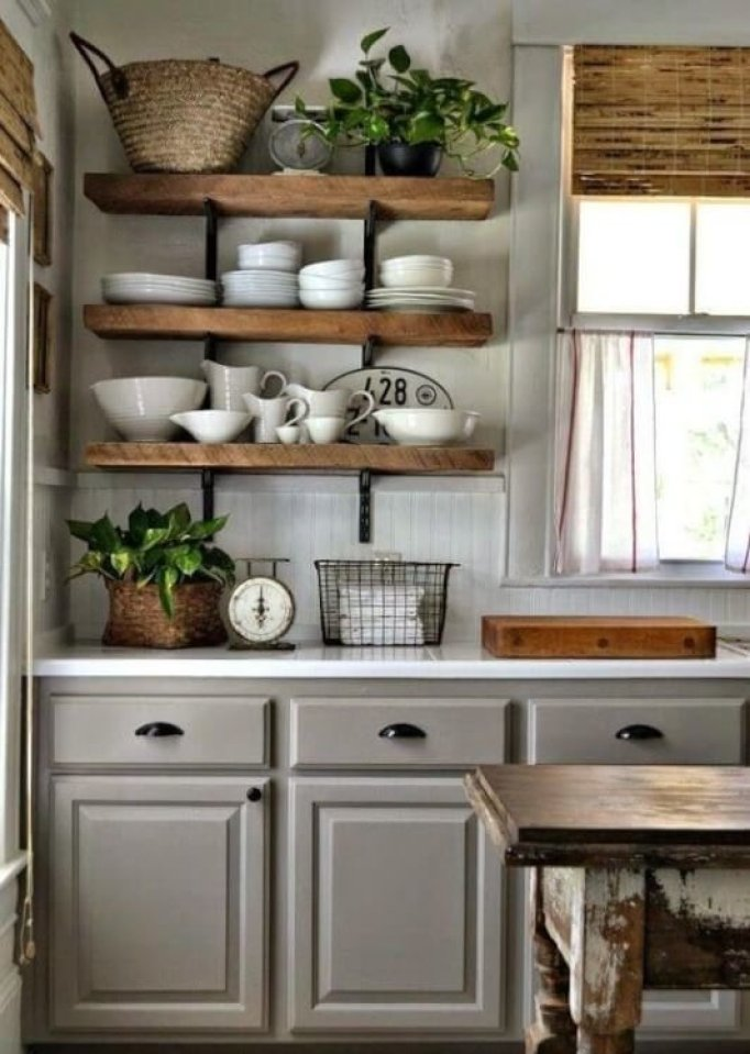 Traditional Antique White Kitchen Cabinets - 25 Antique White Kitchen Cabinets Ideas That Blow Your Mind - Reverb