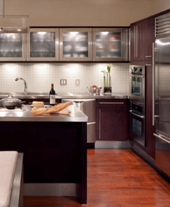 30 metal kitchen cabinets ideas style photos remodel and decor rh reverbsf com metal kitchen cabinets lowes metal kitchen cabinets for sale