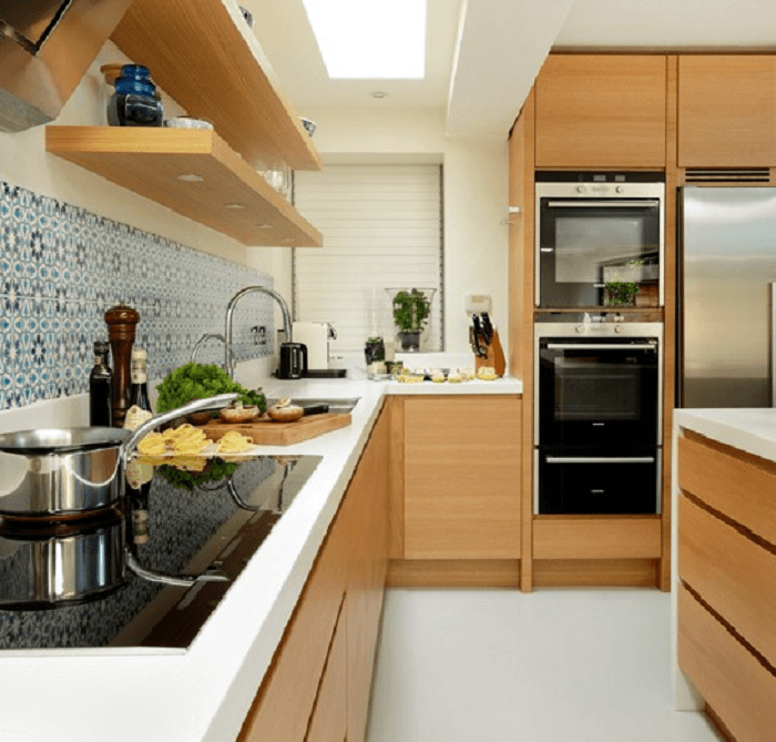 Small L Shaped Kitchens