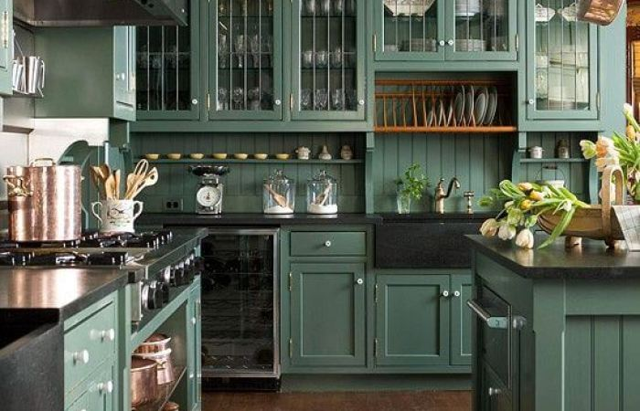 15+ Green Kitchen Cabinets Design, Photos, Ideas & Inspiration