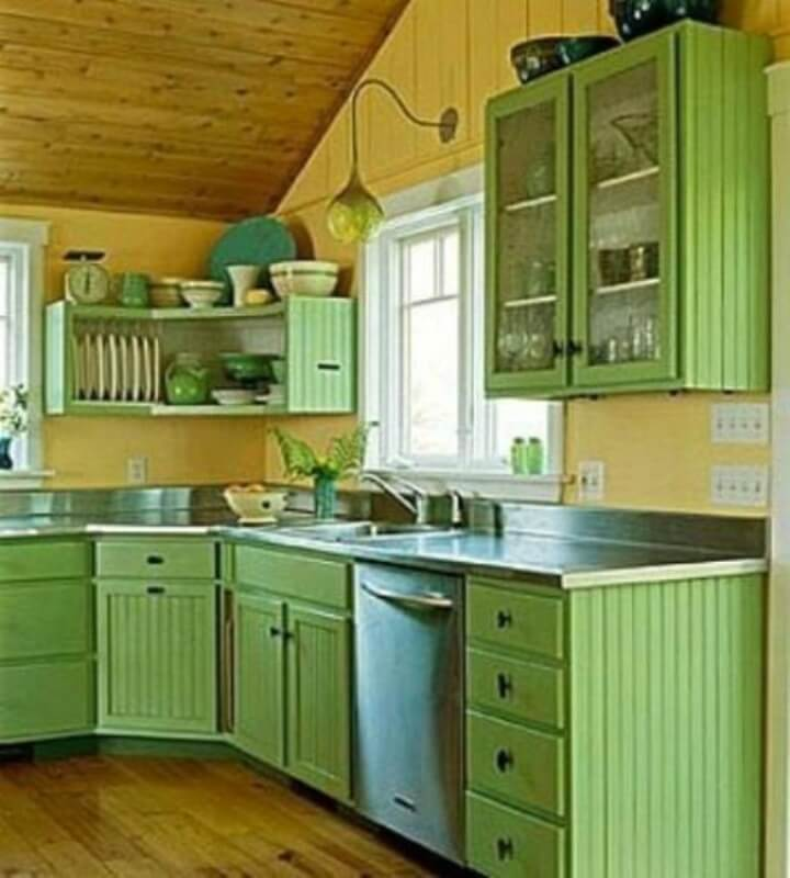 green kitchen cupboard paint 22 kitchen cupboard paint ideas for your stylish kitchen   reverb  rh   reverbsf com