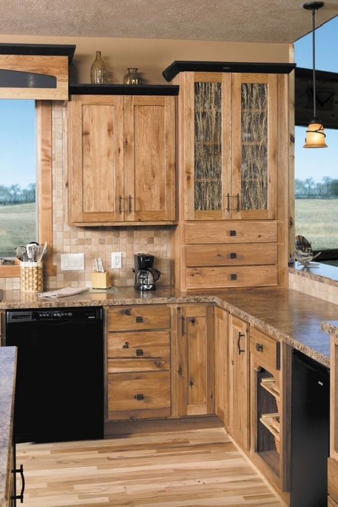 Rustic Kitchen Cabinets Designs Ideas With Photo Gallery