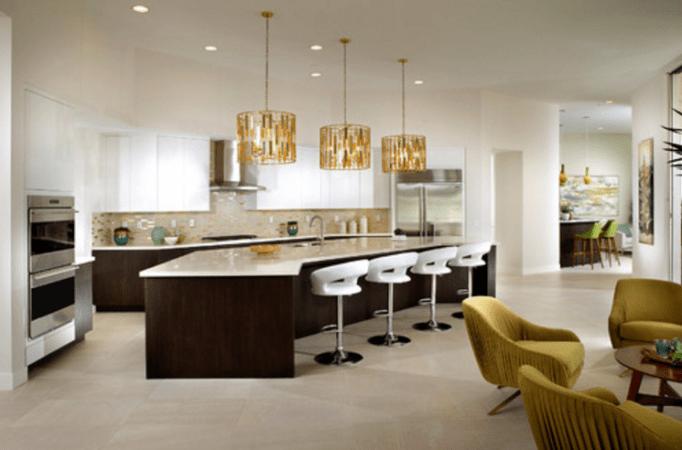 Mid Century Modern Kitchen Open Concept