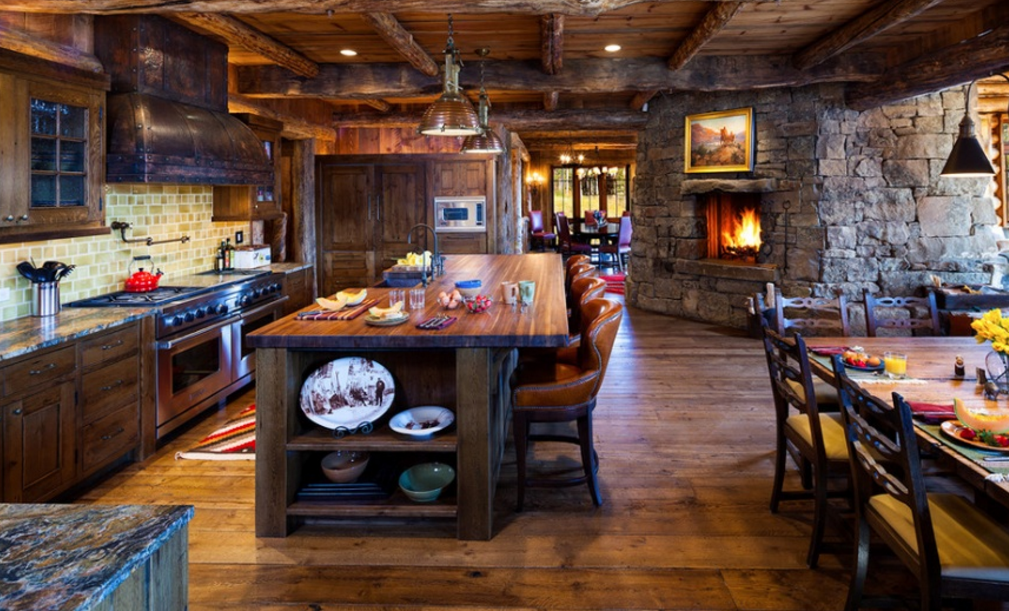 Beautiful Rustic Kitchen Cabinets Designs Ideas With Photo Gallery