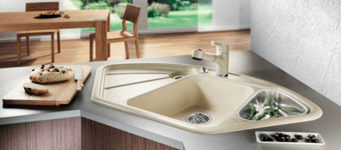 25 Recommended Ideas of Corner Kitchen Sink Design - Reverbsf