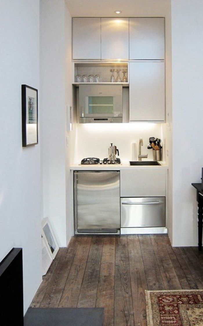 small space kitchen - Kitchen Design In Small House