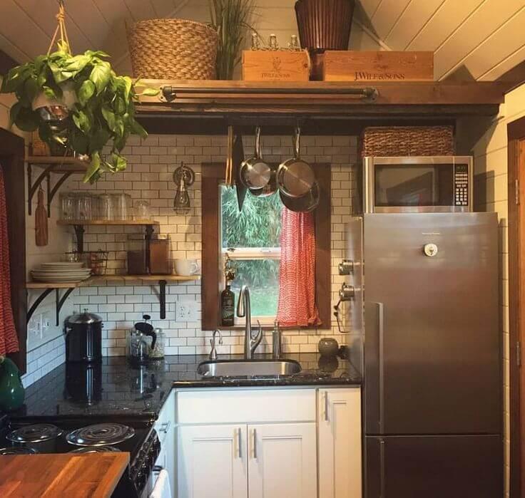Amazing Tiny Home Kitchen