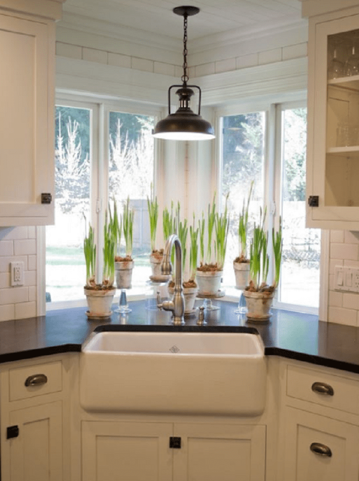 25 Recommended Ideas of Corner Kitchen Sink Design - Reverb